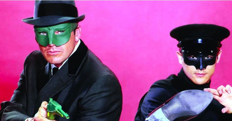 Green Hornet and Kato Film Rights Optioned by Universal